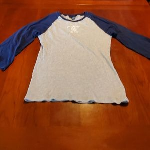 Abercrombie & Fitch ladies shirt is size XL